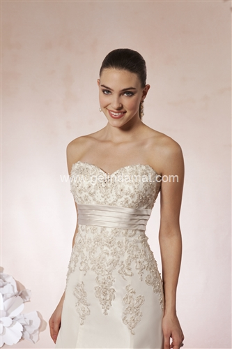 Sweetheart bridal Laperi Gelinlik54