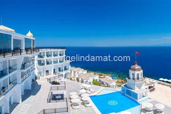 The Blue Bosphorus Hotels & Residence -The Blue Bosphorus Hotels & Residence Deniz Manzarası