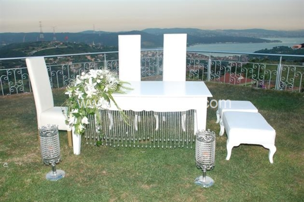 Villa Ozan Restaurant-gelin damat masası