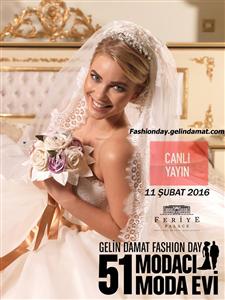 51 Moda Evi Gelin Damat Fashion Day Etkinliğinde Buluşuyor…