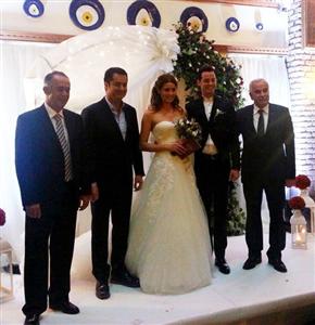Zeynep Dörtkardeşler İle Alp Kırşan Evlendi