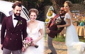Burcu Biricik Evlendi ...