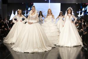 5. Gelin Damat Fashion  Day 2021 Çırağan Sarayı'nda Pandemi  Kuralları İle Gerçekleşti