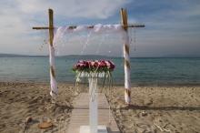 Altın Yunus Çeşme Resort & Thermal Hotel Plajda Düğün