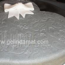 kalp şeklinde düğün pastası