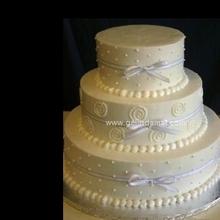 3 katlı düğün pastası