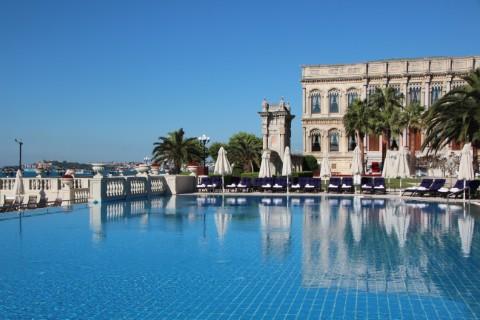 çırağan palace kempinski istanbul sonsuzluk havuzu