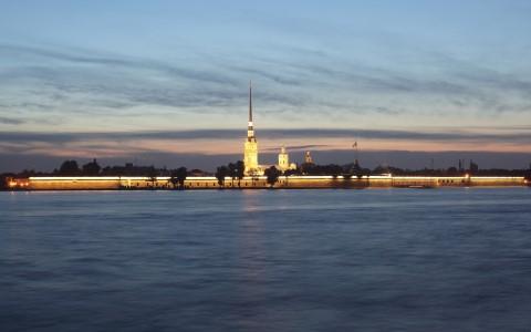 St Petersburg Neva Nehri